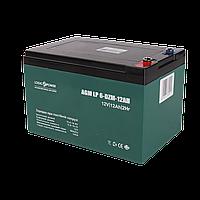 Тяговый свинцово-кислотный AGM LogicPower LP 6-DZM-12 Аккумулятор под болт М5, фото 1