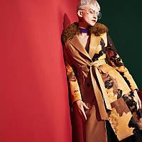 Импортированная из Турции, кожаная куртка женская ,бесшовная куртка-пуховик