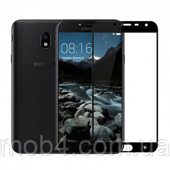 Захисне скло для Samsung Galaxy (Самсунг) J4 2018 (на весь екран)
