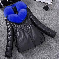 Пуховик , женская короткая зимняя куртка, большие размеры