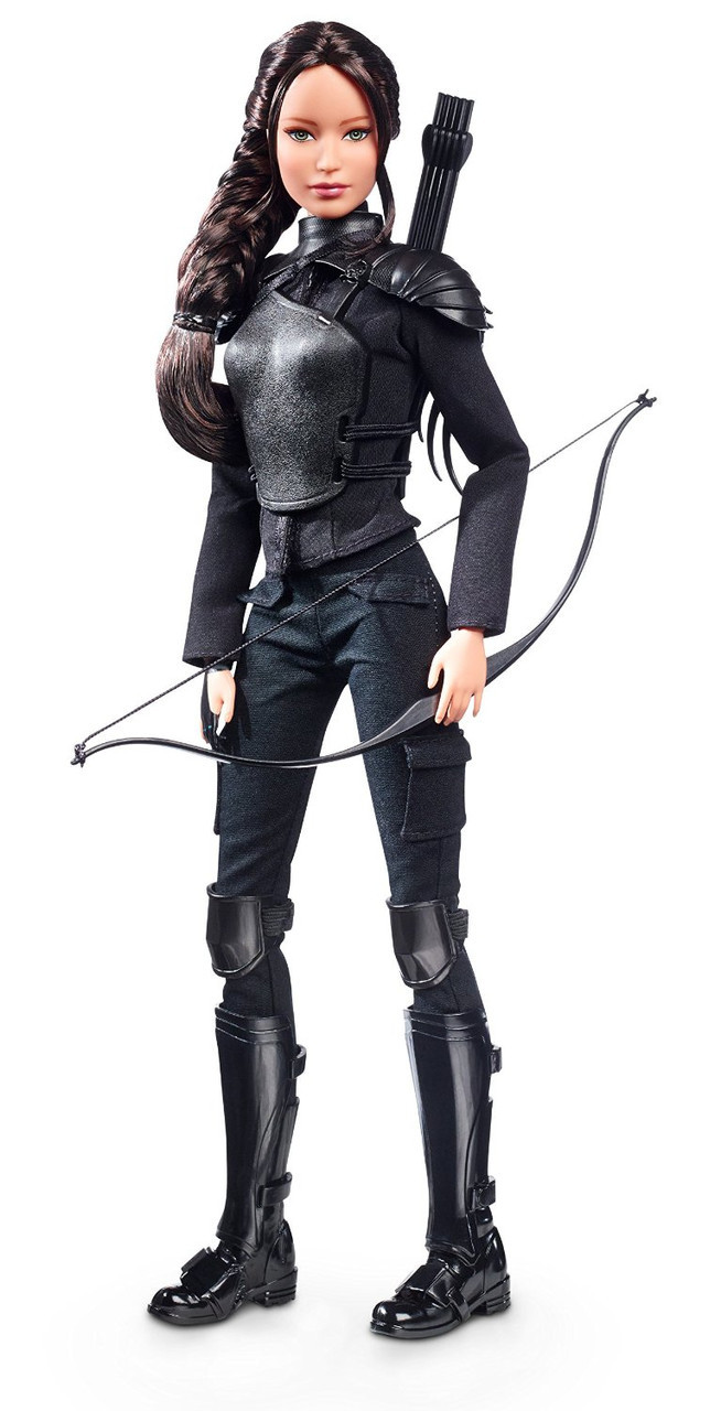 Колекційна лялька Барбі Голодні ігри: Сойка-пересмешница Кэтнисс / The Hunger Games: Katniss