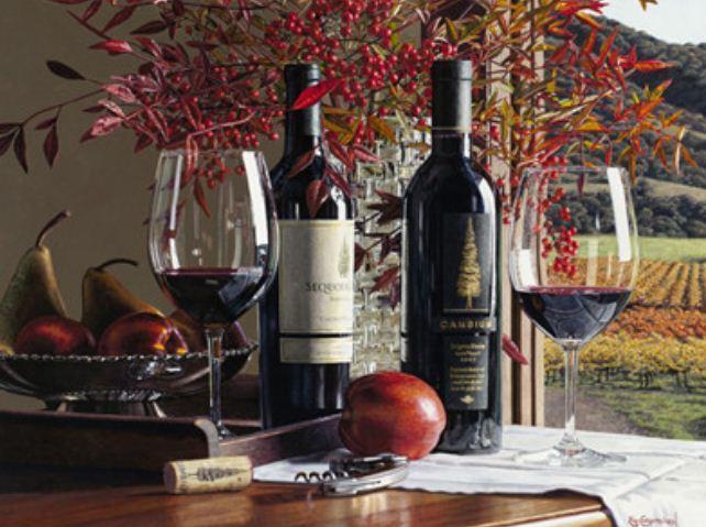 """Картина за номерами RA3381_O 40*50см """"Сорти вина"""" OPP (полотно на рамі з фарбами.кисті)"""