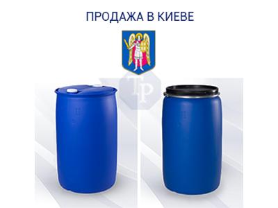 0246-01/1: Зі складу в Києві ✦ Бочка (200 л. б/у пластикова