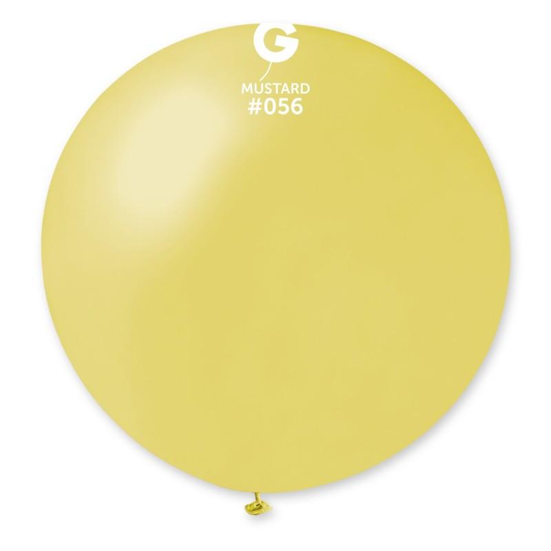 "Шар 31"" (80 см) Gemar металлик 56 горчичный (Джемар)"