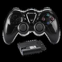 Игровой беспроводной контроллер джойстик геймпад для ПК, ноутбука XTRIKE ME GP-42 Wireless (PC/PS3/Android TV)