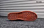 Мужские демисезонные кроссовки Adidas Hamburg (красные) KS 452, фото 2