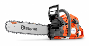 "Бензопила Husqvarna 565 мощность 5 л/с, шаг цепи 3/8"", толщина звена 1,5мм"