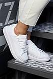 🔥 Кроссовки кеды женские Alexander McQueen, Triple White (Александр МакКуин) кожаные белые, фото 8