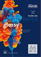 Фотобумага PAPIR A4 Глянец/Глянец 200g (50л)