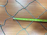 Капронова сітка осередок 100мм нитка 3,0 мм 1,5 х 5,7 м в робочому стані, фото 2