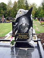 Эксклюзивный памятник на могилу для лётчика