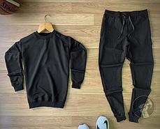 Спортивный костюм черно-белого цвета, фото 3