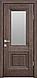 """Дверь межкомнатная остеклённая новый стиль Прованс """" Канна G"""" 60,70,80,90 Орех сибирский, фото 2"""