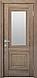 """Дверь межкомнатная остеклённая новый стиль Прованс """" Канна G"""" 60,70,80,90 Орех сибирский, фото 3"""