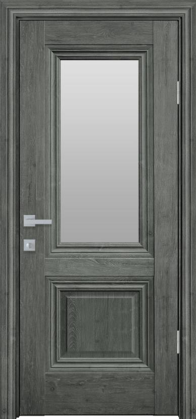 """Дверь межкомнатная остеклённая новый стиль Прованс """" Канна G"""" 60,70,80,90 Орех сибирский"""