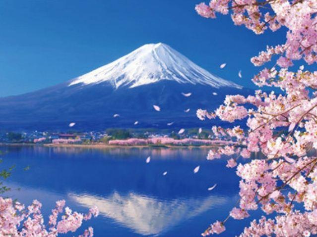 """Картина по номерам RA3301_O 40*50см """"Фудзияма"""" OPP (холст на раме с краск.кисти)"""