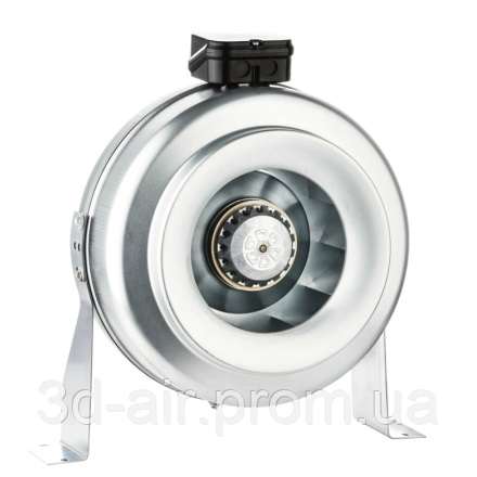 Круглый канальный вентилятор BVN BDTX 150-B
