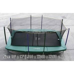 Прямоугольный батут 510 х 305 см. KOGEE с защитной сеткой!, фото 2