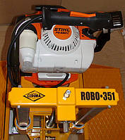 Двигатель сверлильной установки Cedima ROBO-351/OBO-351 - многоцелевая и надежная сверлильная машина. С её помощью сверлятся отверстия подключений ? до 350 мм в бетонных трубах.Также ROBO-351 подходит для отборки кернов в асфальтовыхи бетонных дорожн