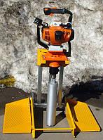 Установка для отбора кернов из дорожного покрытия Cedima ROBO-351 с коронкой 71 мм.