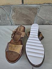 Босоніжки жіночі модні на низькій танкетці DESUN, фото 2