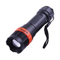 Фонарь пластиковый F11, zoom,фонари Police,ручные фонари, комплектующее,светотехника и аксессуары