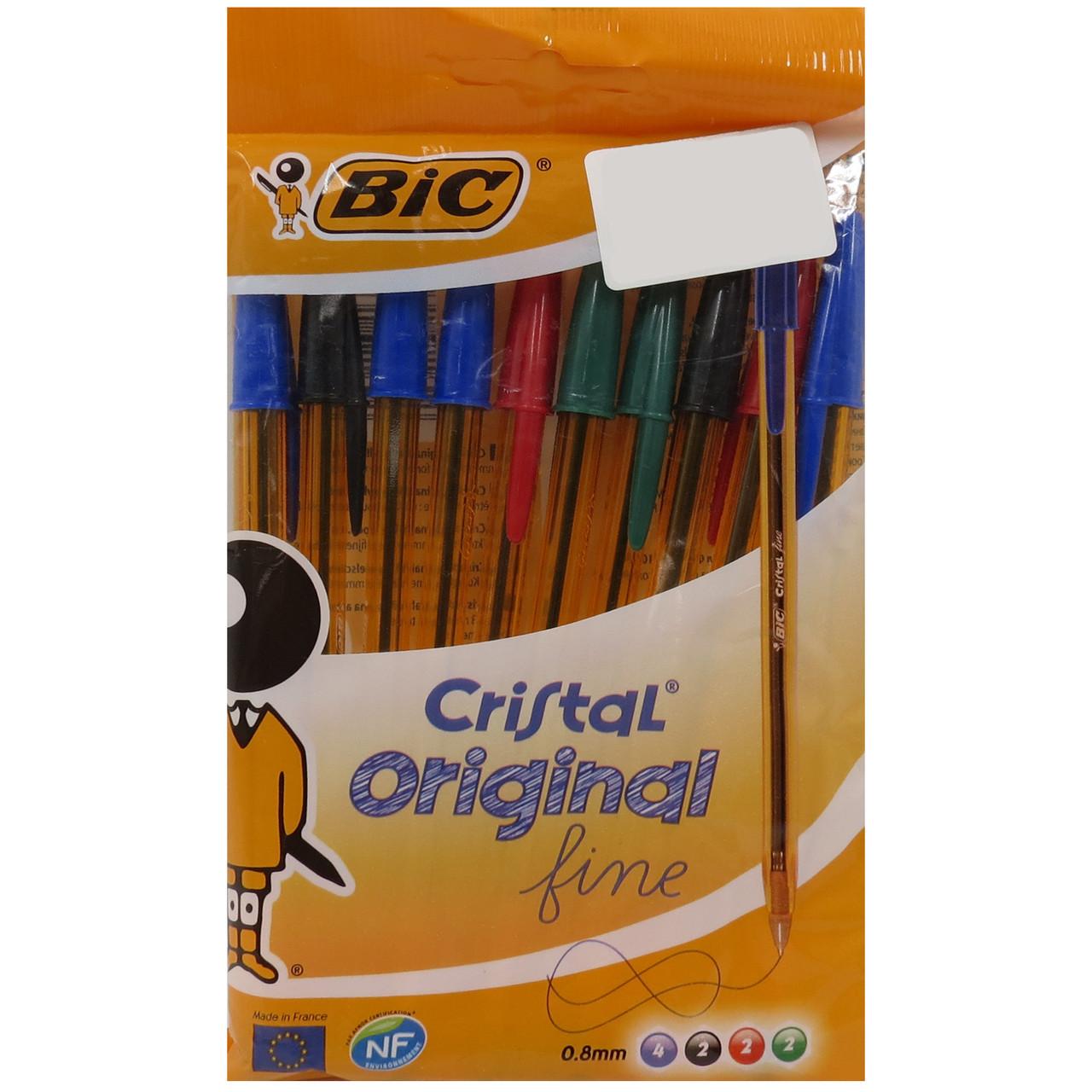 Набір ручок кулькових 10 шт Bic 409