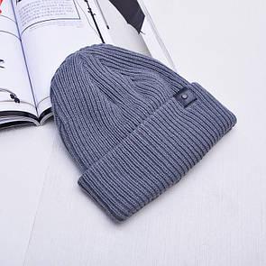 Тепла в'язана шапка
