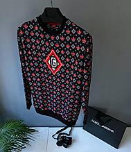 Свитшот в стиле Dolce & Gabbana / Турция(размер XL,XXl)