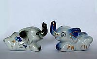 Два слоника из фарфора (набор).