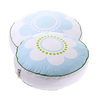 Cotton Living - Подушка круглая Flower Blue