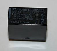 Реле электромеханическое  F4AK012T;  12VDC