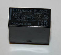 Реле электромеханическое  F4AK012T;  12VDC, фото 1