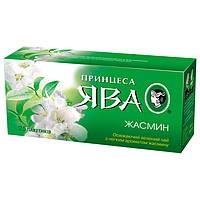 "Чай Принцесса Ява ""Жасмин"" зелёный с ароматом жасмина 25 пакетов по 1.5г"