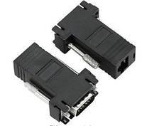 VGA удлинитель по витой паре LAN до 30 м