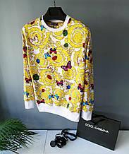 Свитшот в стиле Dolce & Gabbana / Турция(размер M,L,XL)