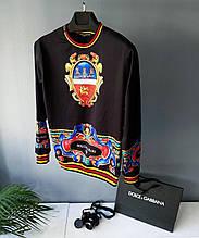 Свитшот в стиле Dolce & Gabbana / Турция