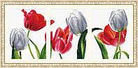 """Набор для вышивания   """"Шесть тюльпанов"""""""