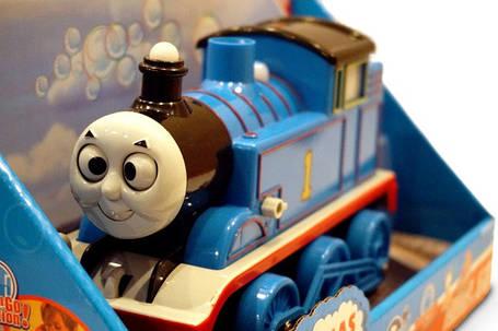 Паровозик Томас Bubble Train мильні бульбашки, фото 2