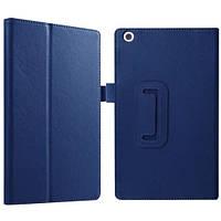 Кожаный чехол-книжка для планшета Lenovo Tab 2 A8-50F TTX с функцией подставки Голубой