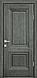 """Двері міжкімнатні глухі новий стиль Прованс """"Канна A"""" 60,70,80,90 горіх гімалайський, фото 2"""