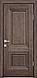 """Дверь межкомнатная глухая новый стиль Прованс """"Канна A"""" 60,70,80,90 орех гималайский, фото 3"""