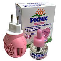 Дитячий набір від комарів PICNIC Baby (фумігатор+рідина 45 ночей)
