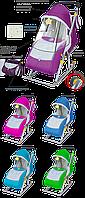 """Санки коляска """"Ника детям 4""""(модель2015)"""