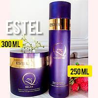 Шампунь и маска для волос(250мл+300мл)с комплексом масел Estel Professional Q3 набор