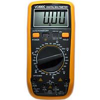 Мультиметр тестер  VC 890C температура емкость и частота