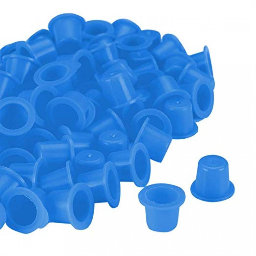 Колпачки под краску (8 мм) Синие