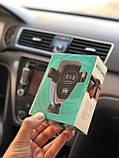 Держатель автомобильный, беспроводная зарядка, фото 2