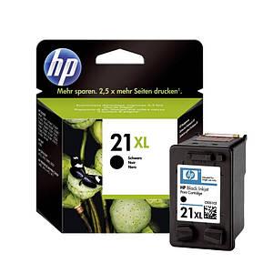 Картридж HP 21XL Black Original (C9351CE) оригинальный, повышенной ёмкость, чёрный, 475 копий