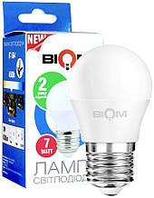 LED Лампа Biom G45 7W E27 3000K BT-563